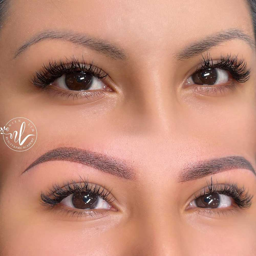 Can the Color of Microshaded Eyebrows Be Corrected?