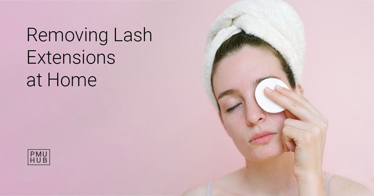 Removing Lash Extensions at Home: Is It Safe to Do It on Your Own?